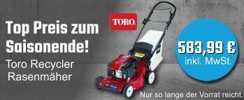 Toro Recycler Rasenmäher