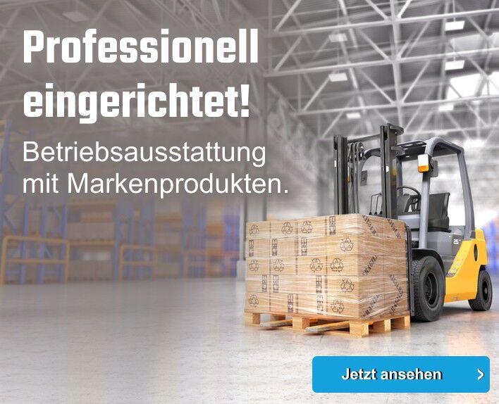 Betriebsausstattung mit Markenprodukten