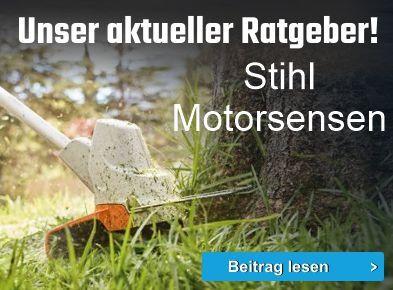 Unser aktueller Ratgeber: Stihl Motorsensen