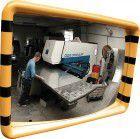 Dancop Industriespiegel gelb/schwarz 40x60 cm