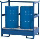 Asecos Gefahrstoffstation St. lack.RAL 5010Schutzrahmen 870x1400