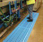 Workdeck Bodenplatte 0.6m x 1.2m, blau