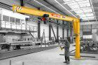 Vetter Säulenschwenkkran M 360 500 kg 5000 mm m. E-Zug