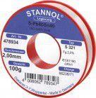 Stannol Lötdraht D. 2 mm Nr.478893 250g